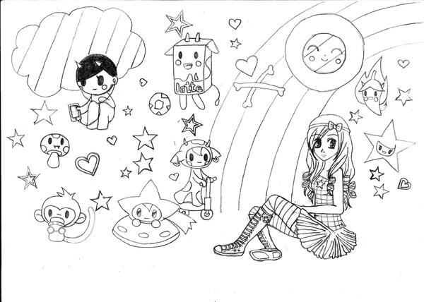 Tokidoki Unicorno Coloring Pages Coloring Pages Tokidoki Coloring Pages