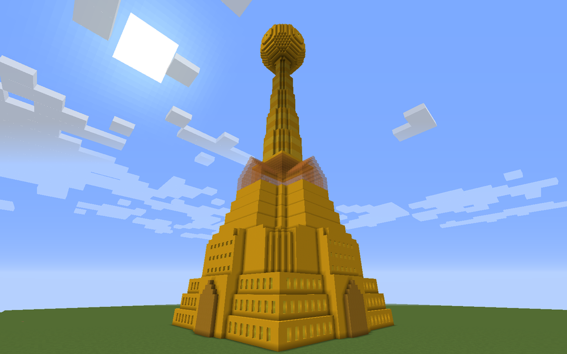 Prospit Dream Tower- Minecraft: Version 2.0 by Tanglemorph-wanderer