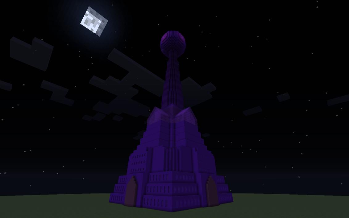 Derse Dream Tower - Minecraft by Tanglemorph-wanderer