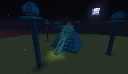 Frog Temple - Minecraft by Tanglemorph-wanderer