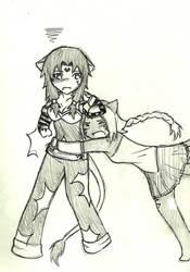 MysticRev- Gothgrrl and Lilly by dragonartist22