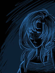 Digital girl sketch thing