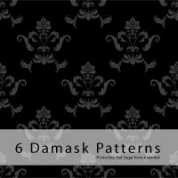 Freebie: Damask Patterns by emperorwarion