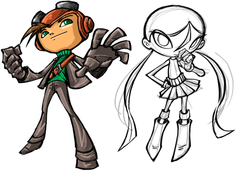 Psychonauts by bleedman
