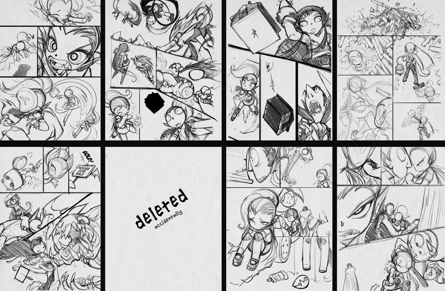 GTFO sketch pages by bleedman