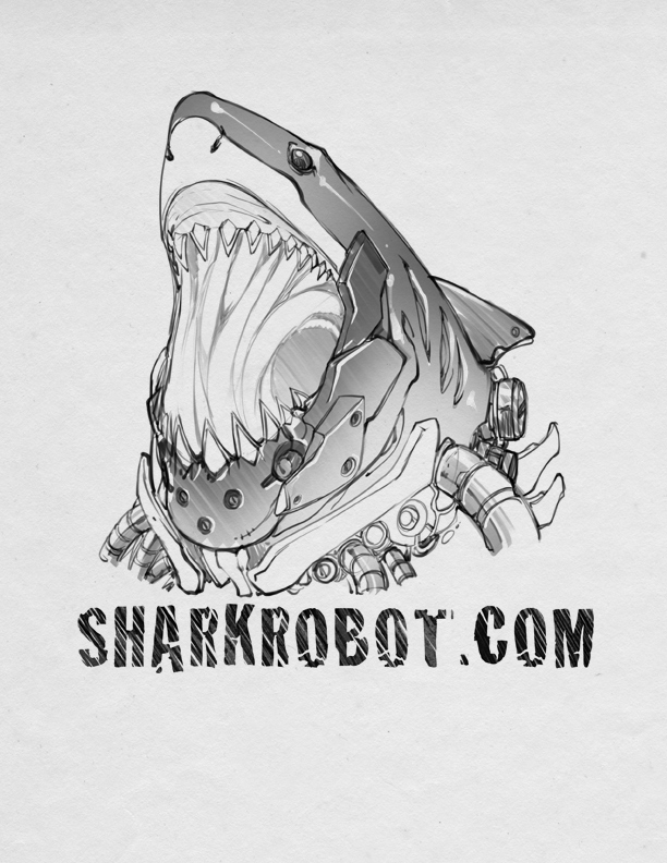 Sharkrobot by bleedman
