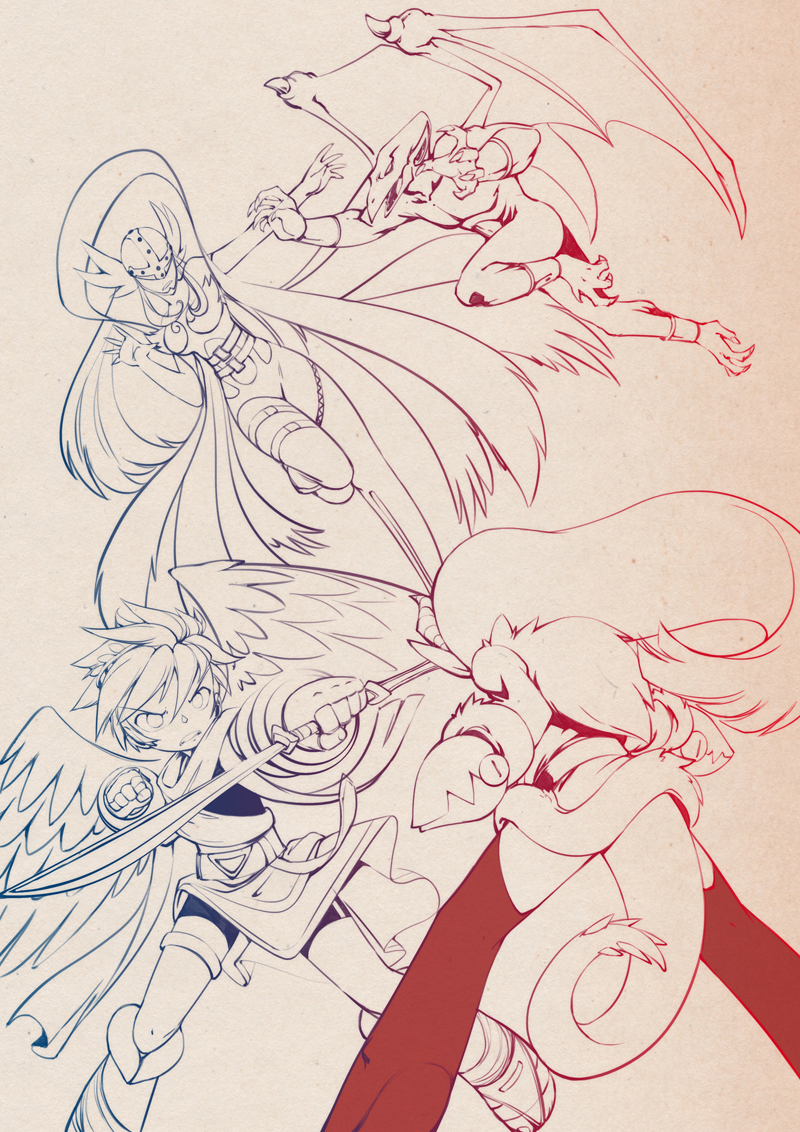 Angels and Demons by bleedman