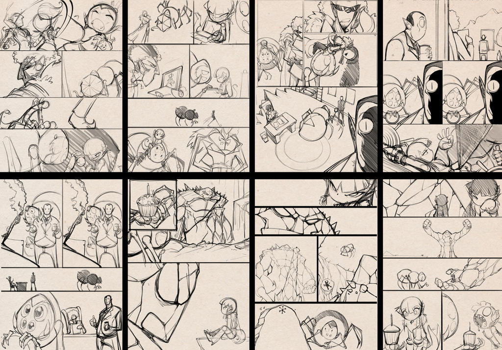 GTFO sketch pages 2