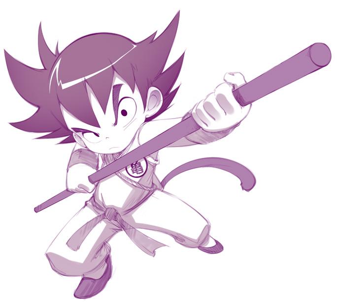 Son Goku by bleedman