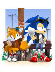 Sonic the Hitchhog
