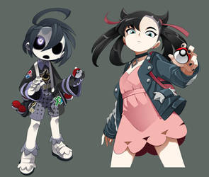 Pokemon Ghost and Goths