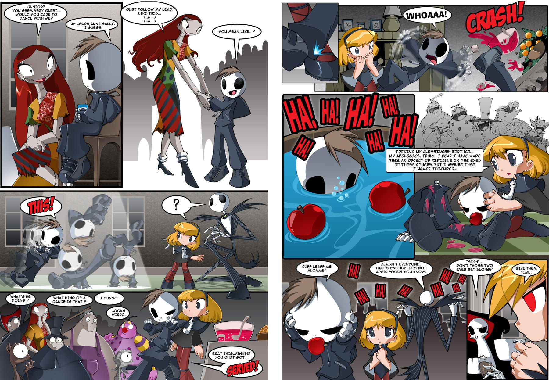 Grim tales p13_14 by bleedman