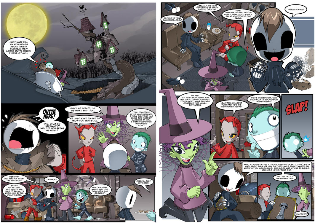Grim Tales p17_18 by bleedman