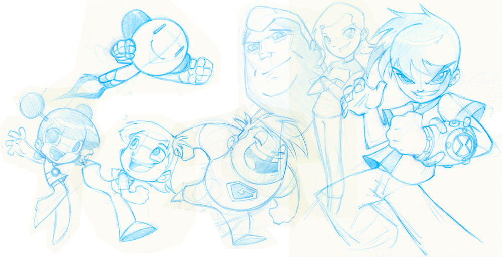 Toon Time by bleedman