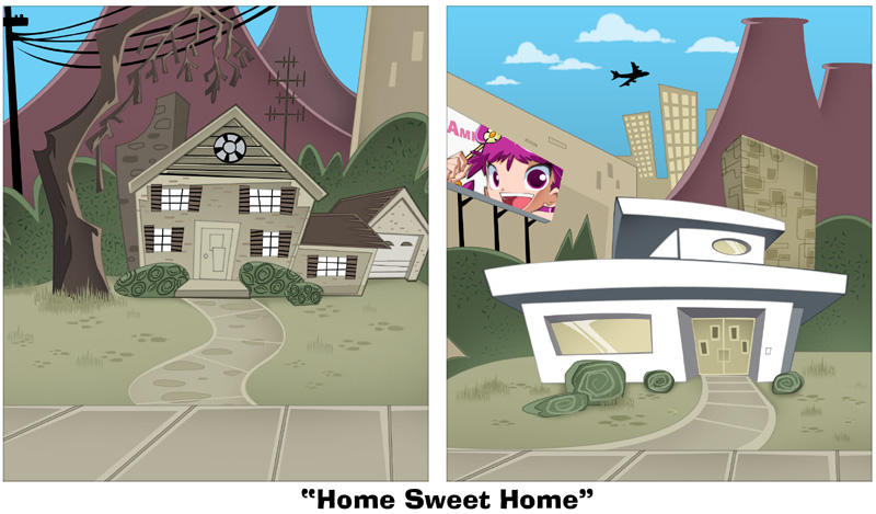 Home Sweet home by bleedman