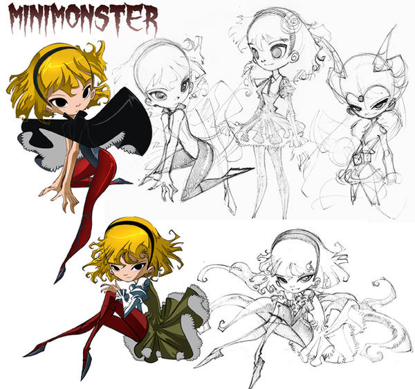 Minimonster by bleedman