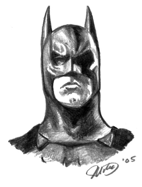 Batman Head By Whyaduck On DeviantArt
