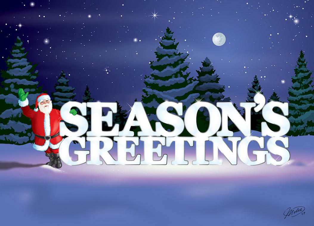 Seasons Greetings 2017 By Whyaduck On Deviantart