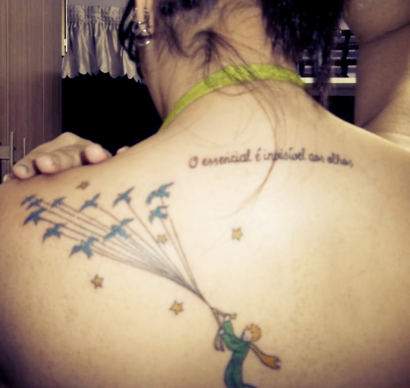 The Little Prince tattoo by 666QueenOfPain