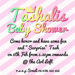 Tashali's Baby Shower Invite