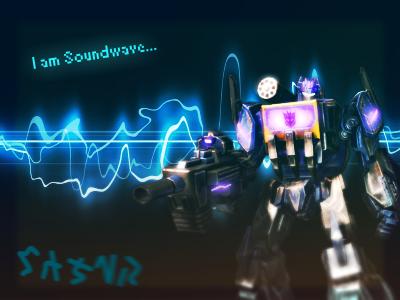 I am Soundwave by Atari93