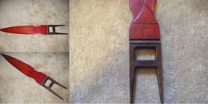 Wooden Katar Sword