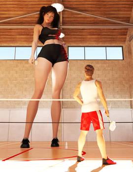 Tall girl 21