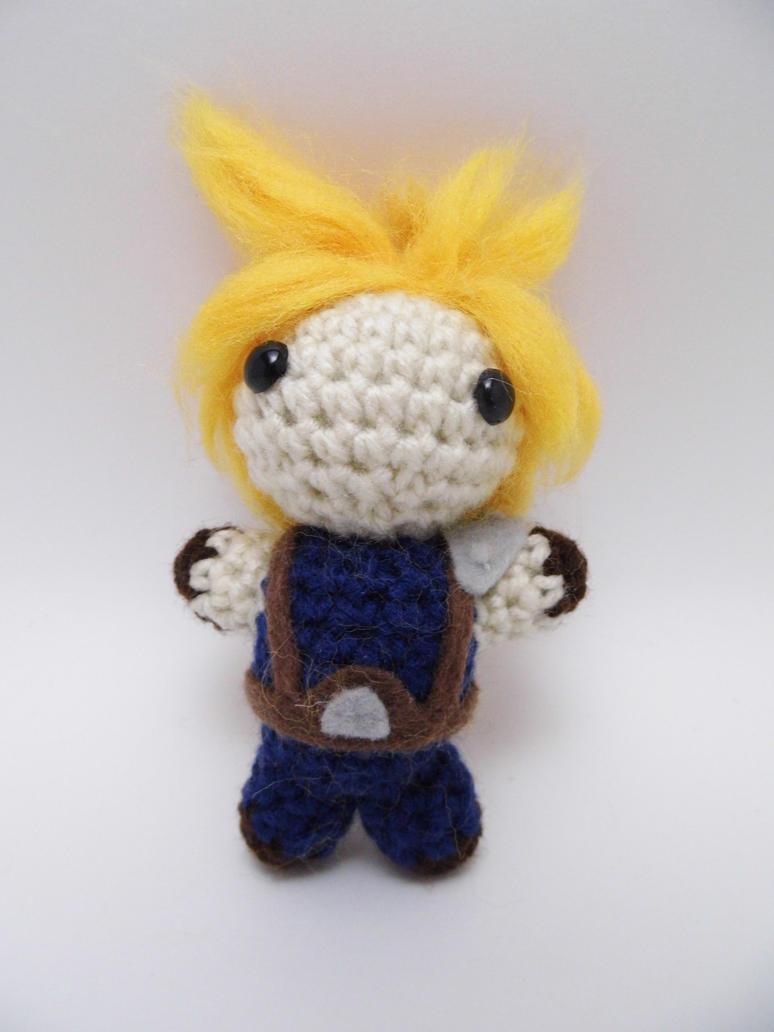 Mini Crochet Cloud Doll by FullMetalAshley on DeviantArt