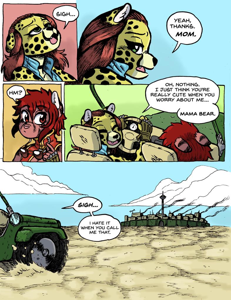 Brutal Planet Pg. 12 by rabbitmaskedman