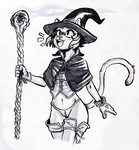 Cat Witch!!