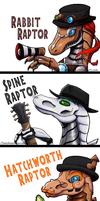 Steam Powered Raptors