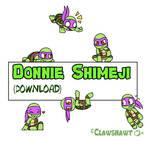 Donatello Shimeji (Download!)