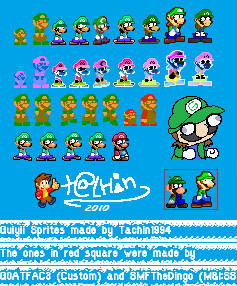 Guiyii Sprite Sheet by tachin
