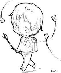 Natsume Takashi [Child] by Athelynge