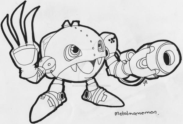 Metalmamemon by Boltonartist
