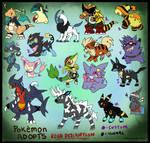 Pokemon Point adopts batch 5 :customs: