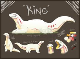 King the Glaurex ref by Boltonartist