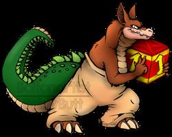 Crash Bash: Dingodile by Boltonartist