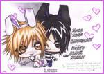 Uru et Aoi-HappyEasterBunnies