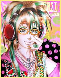 Polka Dot Paper Rainbow by GarasudamA
