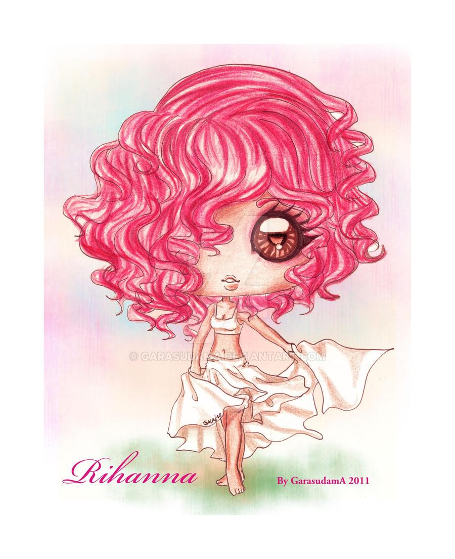 Rihanna - By GarasudamA by GarasudamA