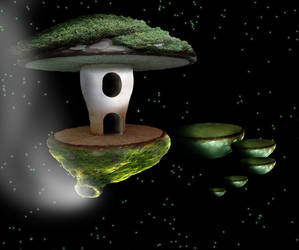 Spacy mushroom by Danielplinsinga