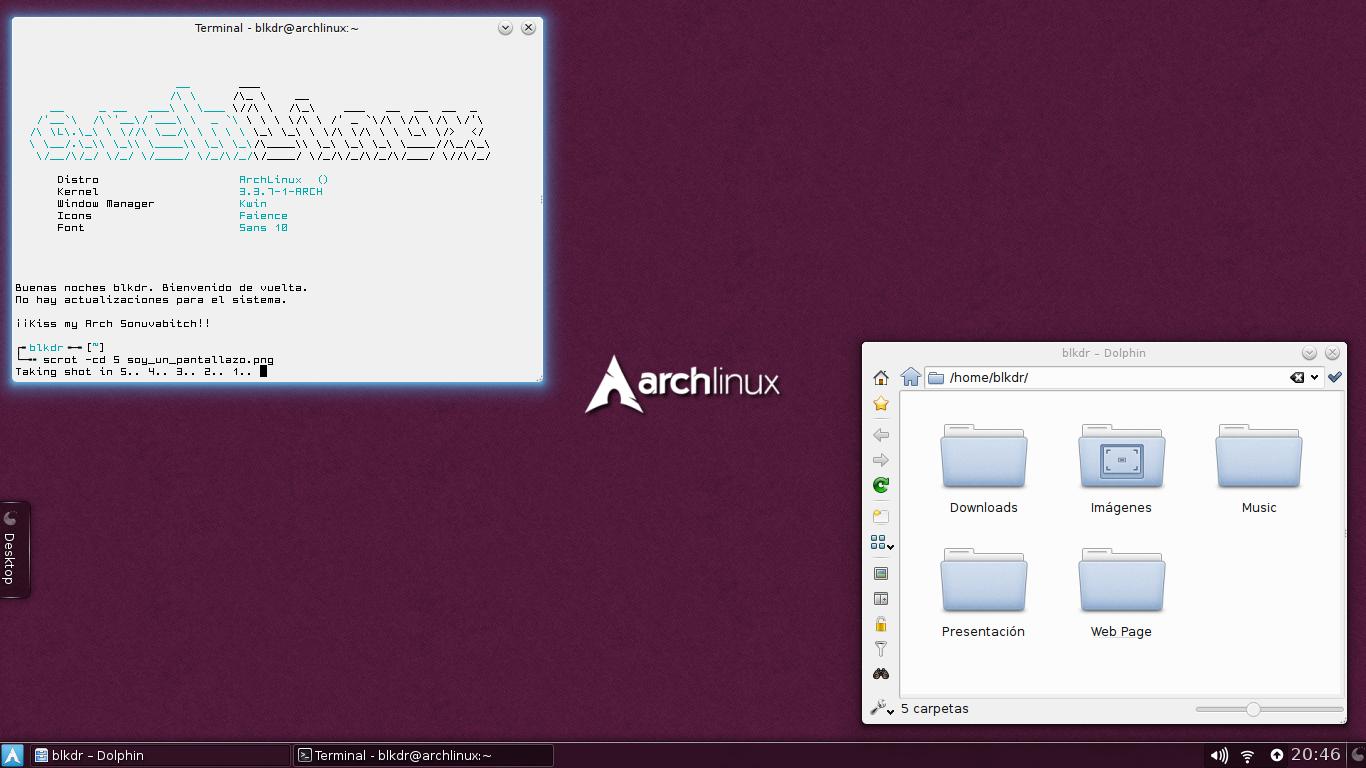 [Tutorial] Personaliza KDE 4.8.4