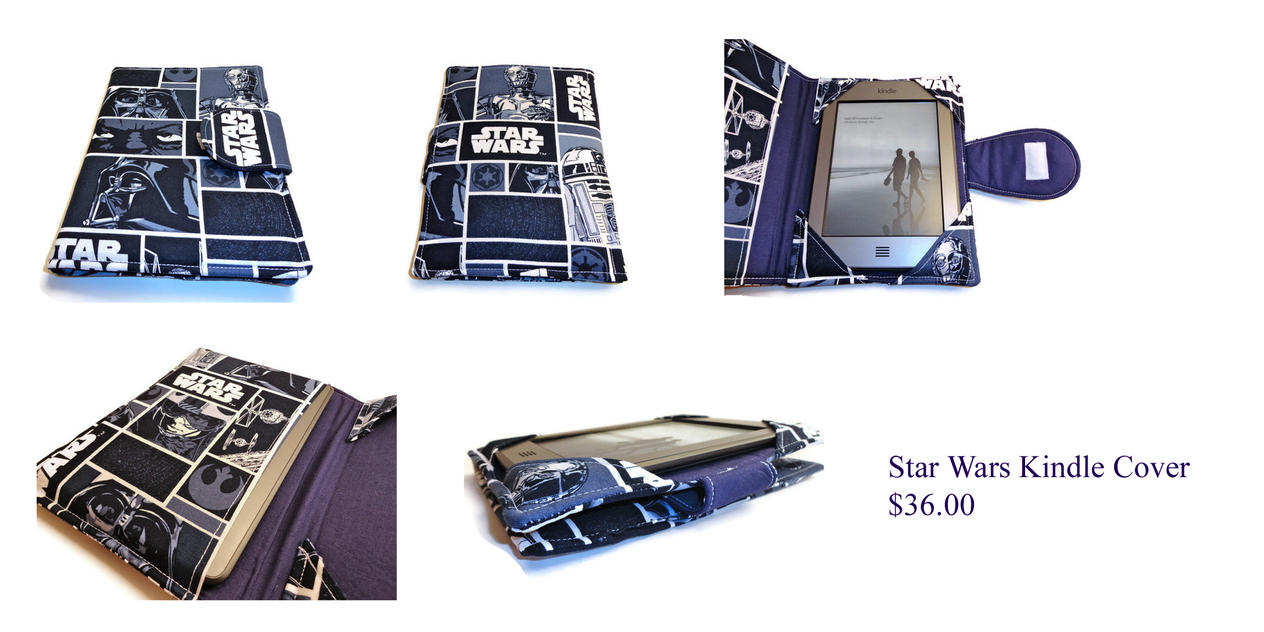 Star Wars Kindle Cover by The2SistersShoppe
