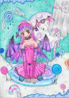 .Certain night goddess. by Twigileia