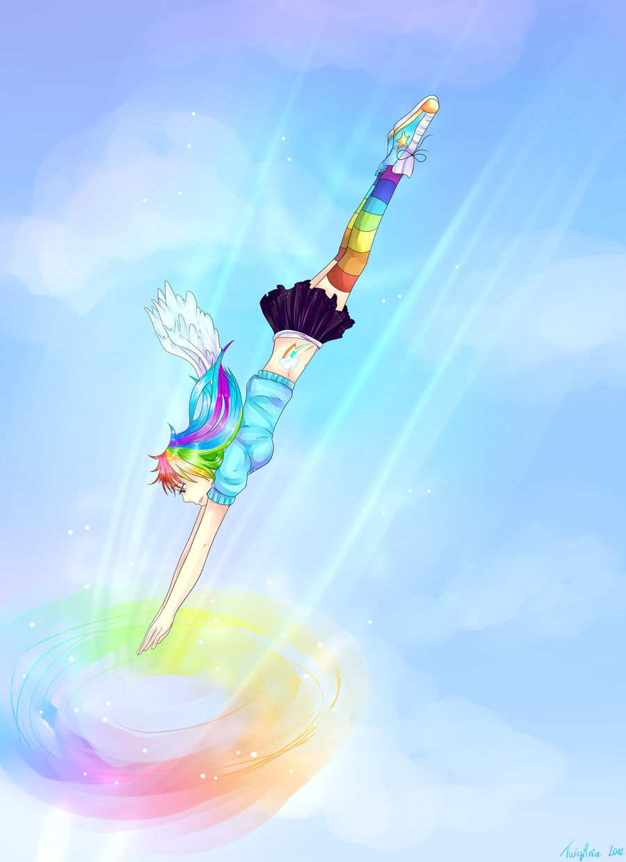 :. Sonic Rainboom .: by Twigileia on DeviantArt