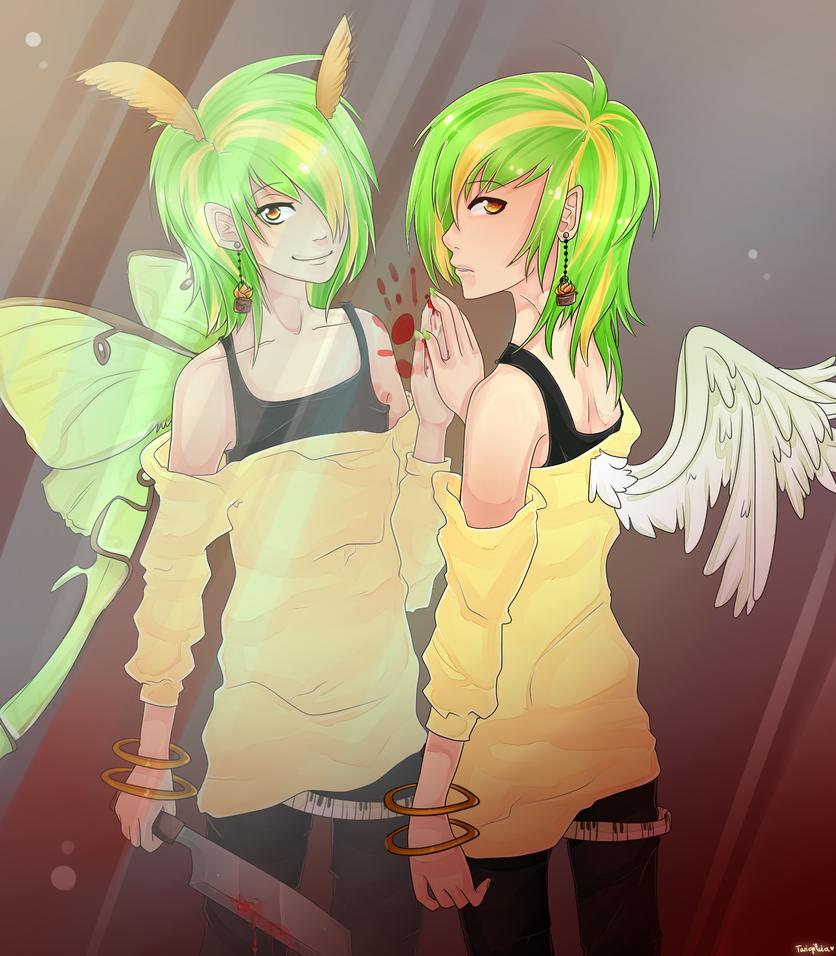 Two sides by Twigileia