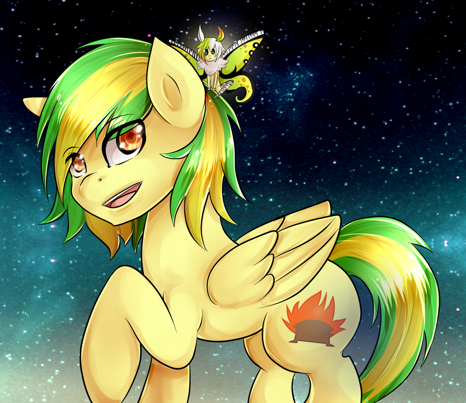 Gosh I really love space backgrounds by Twigileia
