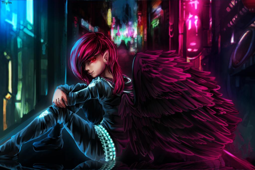 Varien / Raven by Twigileia