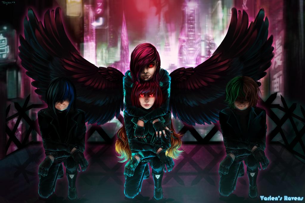 Varien's ravens by Twigileia
